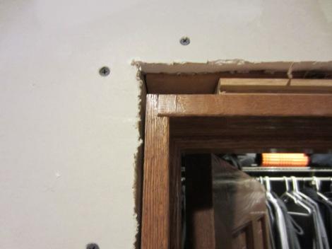 closet door jamb detail