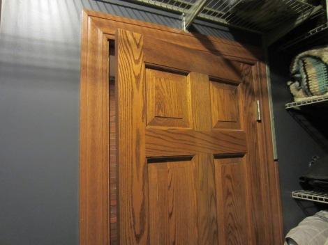 closet oak door