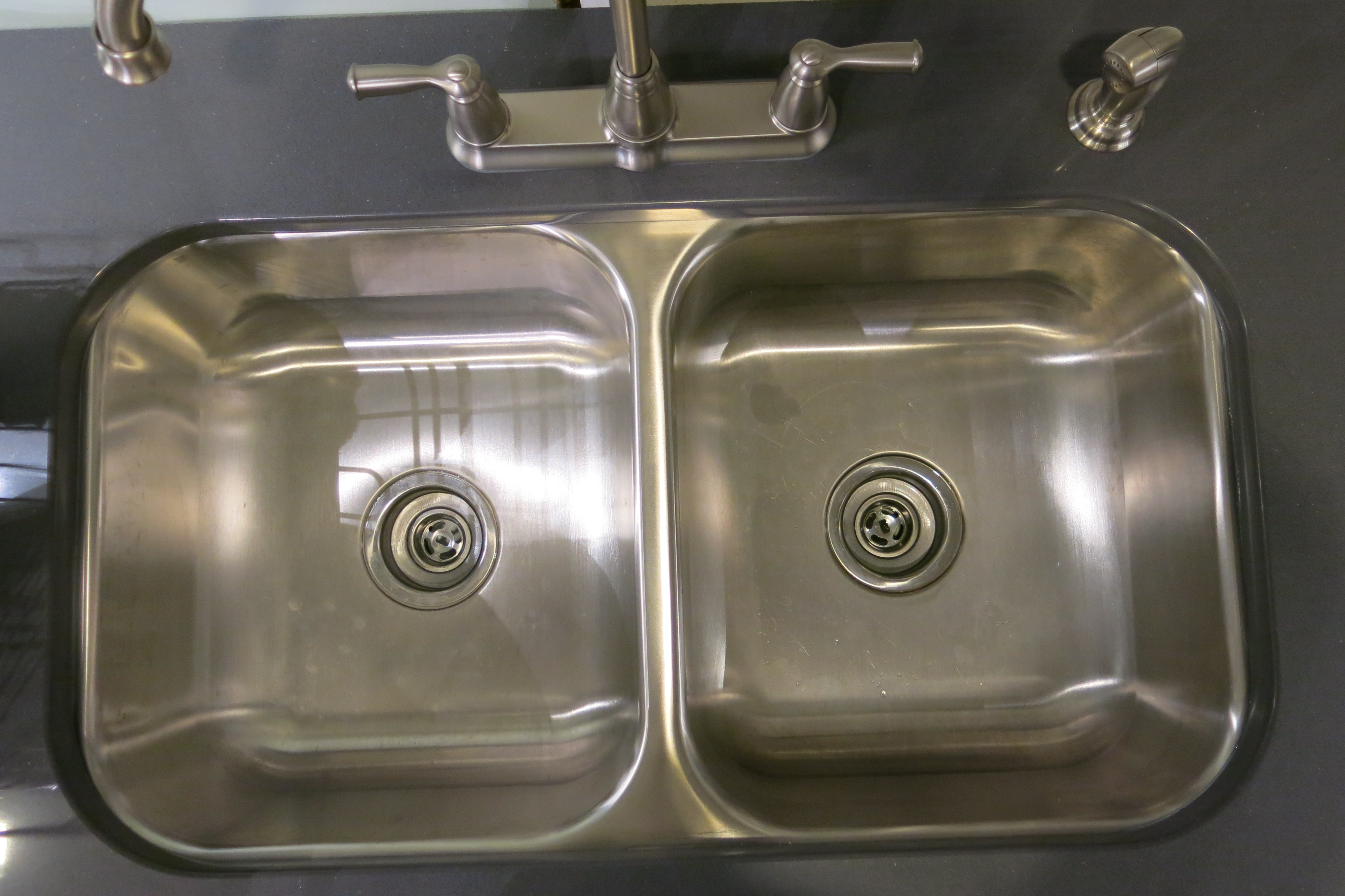 Dishwasher Countertop Gap : look at the plumbing. PA building code requires the use of an air-gap ...