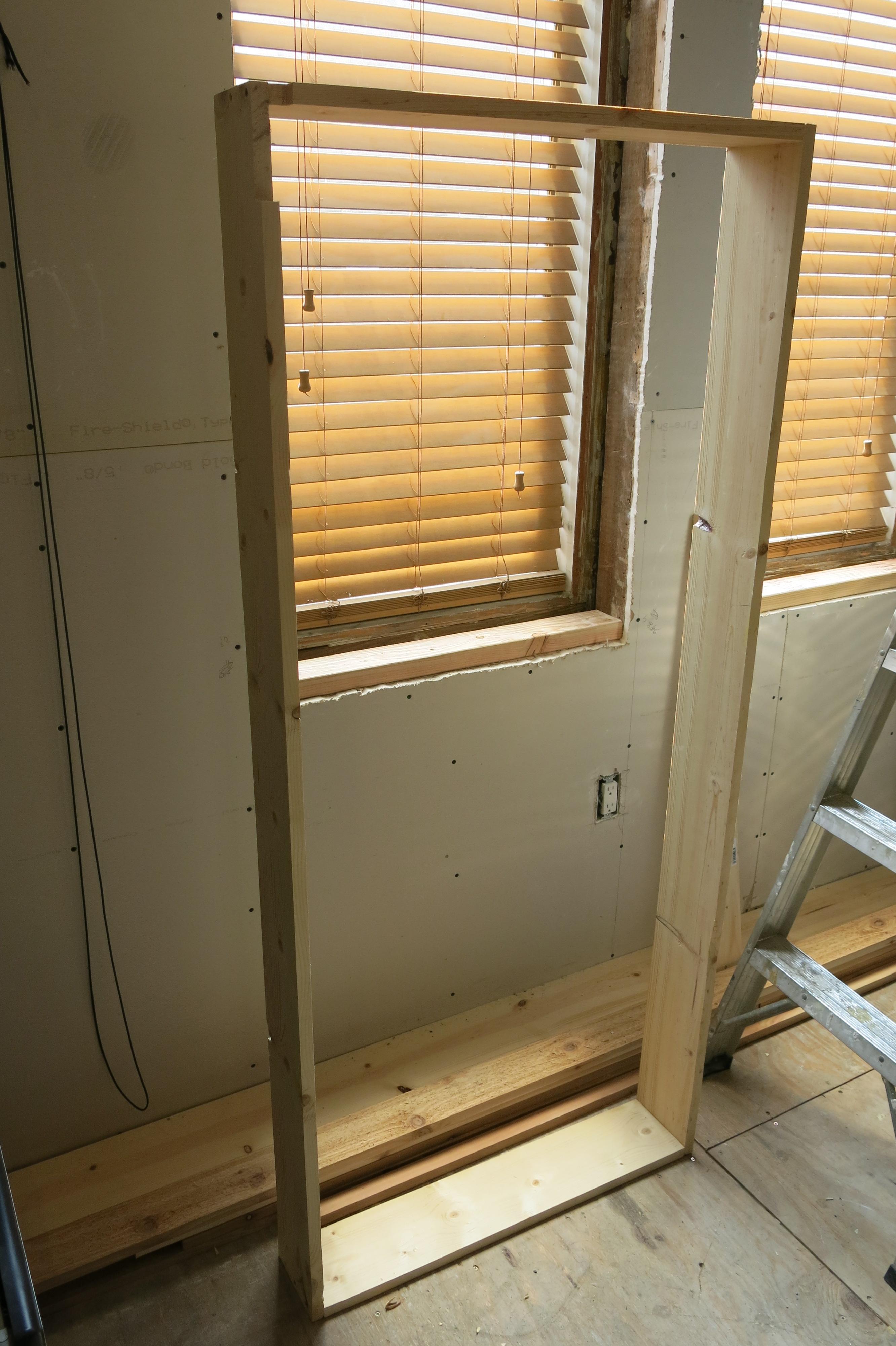Lr window jamb extensions design build reside for Window jamb design